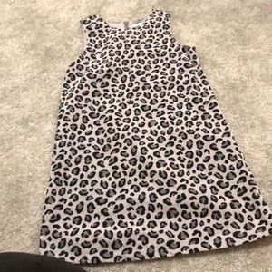 Gymboree leopard print dress